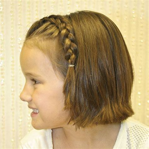 Short Hairstyles For Kids Elle Hairstyles