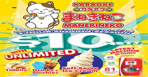 Boat Drinks Karaoke by Karaoke Manekineko 10 Nett For 2hr W Unlimited Drinks