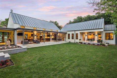 shaped house exterior fresh  modern farmhouse exterior ranch modern texas country