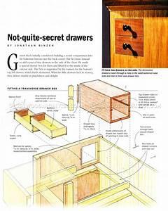 Secret Drawer - Hidden Compartment Furniture • WoodArchivist