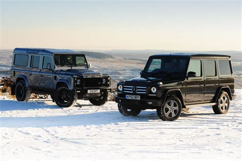 Mercedes G-class Vs Twisted Defender