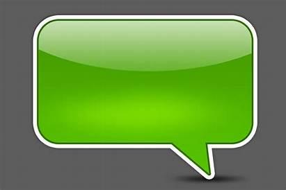 Text Iphone Messages Bubble Message Blank Bubbles