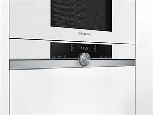 Siemens bf634rgw1 einbau mikrowelle weiss for Siemens mikrowelle einbau