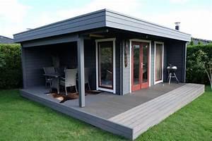 Gartenhaus Mit Lounge : das hansa lounge xl gartenhaus mit erweitertem sonnendeck moderne gartenh user pinterest ~ Indierocktalk.com Haus und Dekorationen