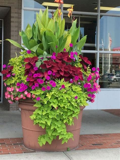32 Easy and Fresh Spring Container Garden Flowers Ideas ...
