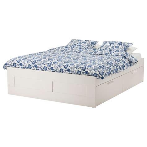 Ikea Brimnes Bed by Brimnes Bed Frame With Storage White