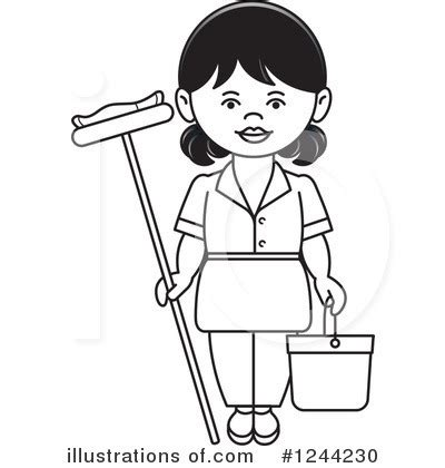 11271 electrician clipart black and white occupation clipart 1244230 illustration by lal perera