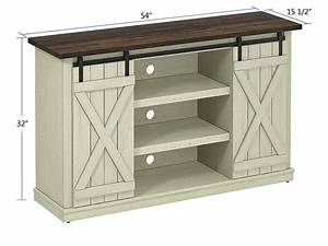 Killian Media Console In Two-tone