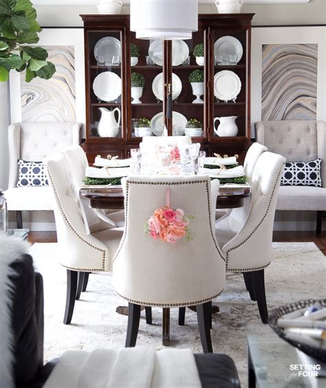 Diy Dining Room Decorating Ideas by Easy Easter Table Decor Ideas Entertaining