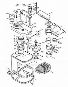 Delonghi Bar8iu Parts List And Diagram   Ereplacementparts Com