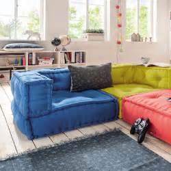 kinderzimmer sofa kindersofa cushion sofa eck element l 65x65cm dannenfelser