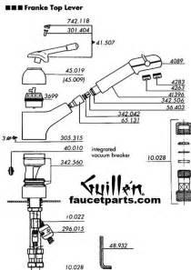 franke kitchen faucet parts franke faucet parts