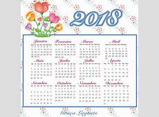 Baixar calendario 2018 2019 2018 Calendar Printable with