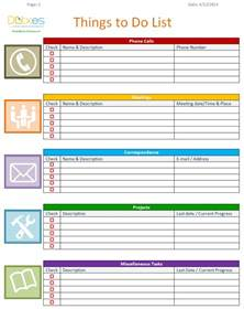 To Do Template Excel Weekly To Do List Template Excel Viewing Gallery