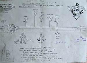 Ariel  U0026 Bsa Wiring Loom