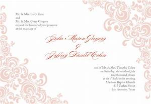 return address for wedding invitations template best With invitiation template