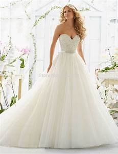 aliexpresscom buy heavy beaded sweetheart ball gown low With sexy wedding dresses