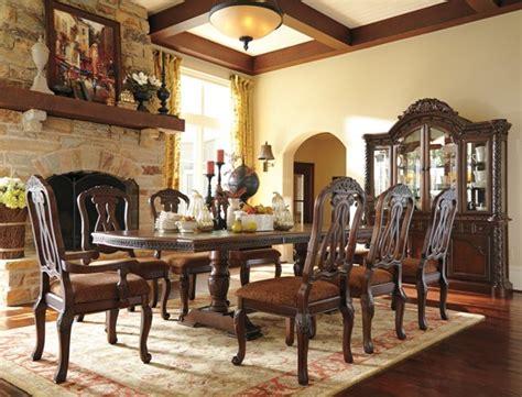 ashley furniture north shore pc dining room set