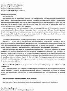Lettre Du Président Aux Français : r fugi s la lettre du pr sident de la r publique adn ~ Medecine-chirurgie-esthetiques.com Avis de Voitures