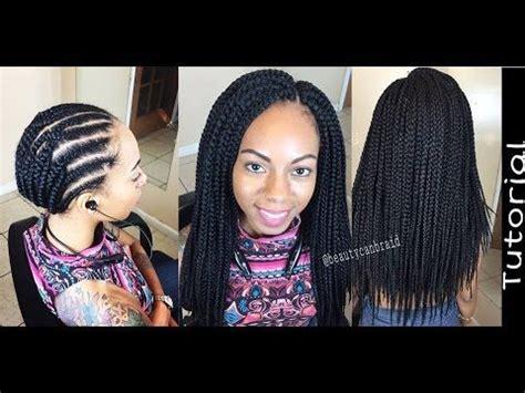 medium box braids in 2 hrs freetress braid box braid