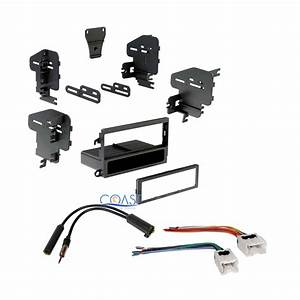 Single Din Car Stereo Dash Kit   Antenna   Harness For 1998