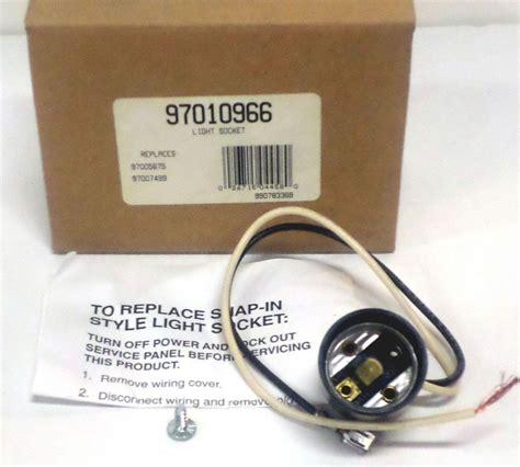 range hood light bulb replacement 97010966 broan nutone light bulb socket for vent fan hood