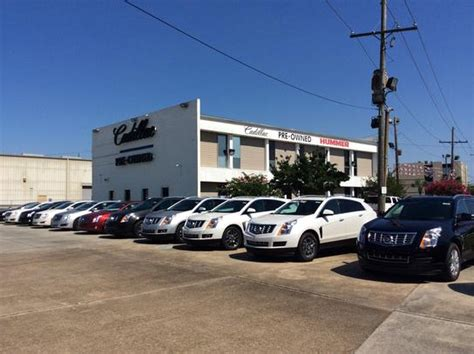 Chrysler Dealership New Orleans by Cadillac Of New Orleans Metairie La 70006 5310 Car