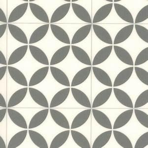 Carreaux De Ciment Pvc : sol vinyle pvc r nove imitation carreaux de ciment rosace larg 4m ~ Teatrodelosmanantiales.com Idées de Décoration