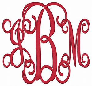 Monogram initials video search engine at searchcom for 3 letter initials