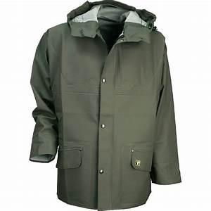 veste de pluie mixte guy cotten isoder glentex vert kaki With vêtements de pluie pour femme