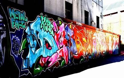 Graffiti Buildings Urban Paint Wallpaperup