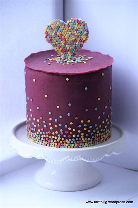 sprinkle cake tarttokig