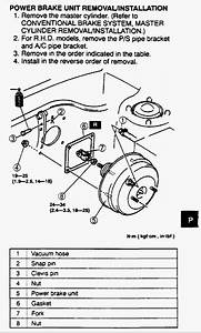 Blow Up Diagram For A Mazda Brake Booster  U2013 Johnplanet
