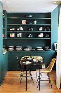 les 25 meilleures idees de la categorie murs vert fonce With beautiful quelle couleur avec le turquoise 9 quelle couleur choisir pour ma cuisine inspiration cuisine