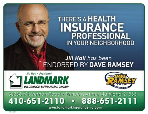 America's trusted voice on money. Dave Ramsey   Landmark Insurance & Financial Group