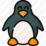 Linux Icon Icons Premium Svg Lineal