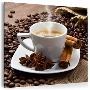Neuheit glasbilder bild deko glass glasbild kaffee kuche for Glasbilder küche kaffee