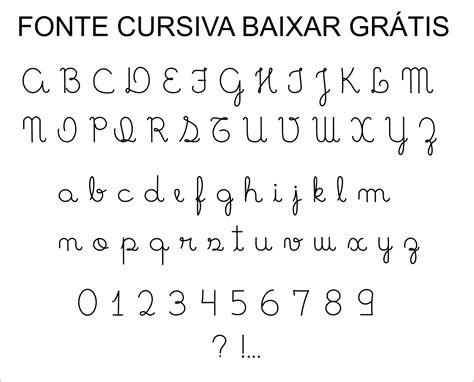 baixar fonte caligrafia cursiva