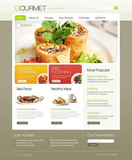 food drink website template website templates
