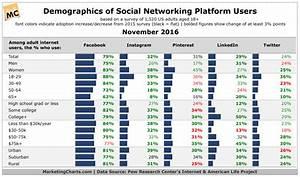 Social Networking Platforms' User Demographics Update 2016 ...