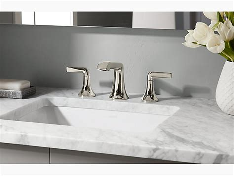 caxton rectangular  mount bathroom sink