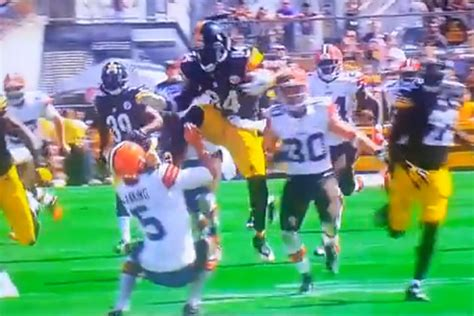 Steelers, Antonio Brown Displays 'Karate Kick Action ...