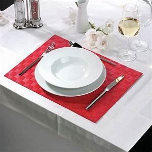 Set De Table Bleu : set de table 30x40 cm bleu x12 ~ Teatrodelosmanantiales.com Idées de Décoration