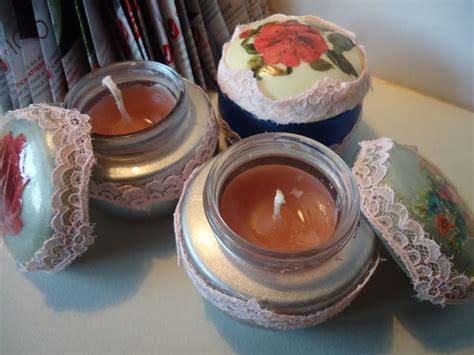 candele fatte in casa candele profumate fatte in casa riuso creativo candele