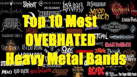 Top 10 Most Overhated Heavy Metal Bands Youtube