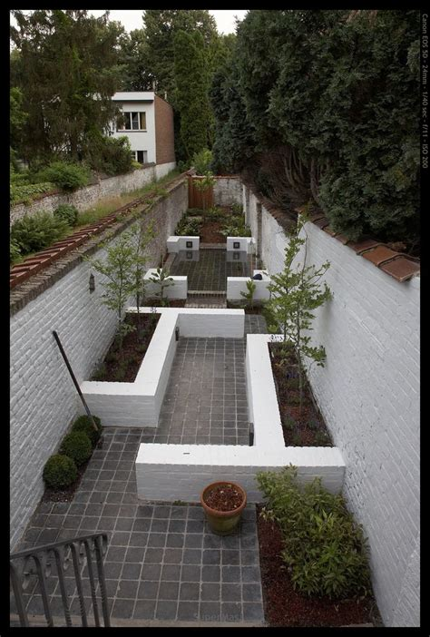 Schmaler Garten Gestalten by Narrow Garden With Different Points Of Interest