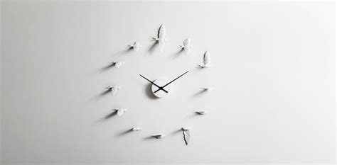 horloge murale originale par haoshi design