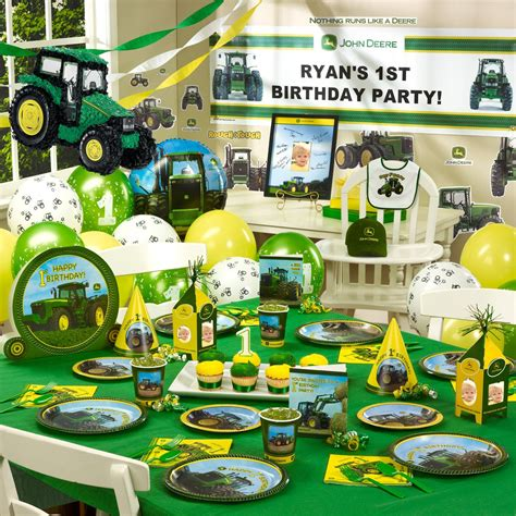 John Deere Pink 16 Guest Party Pack Party Ideas