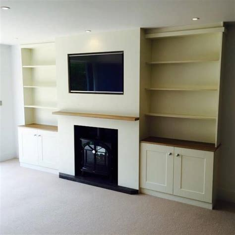 fitted living room furniture lounge storage solutions