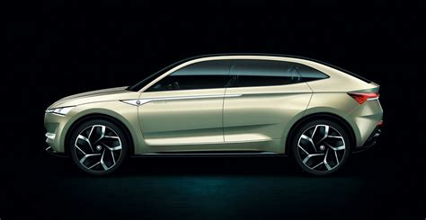 Skoda Vision E Coupe Crossover Concept This Ιs Ιt Carscoops